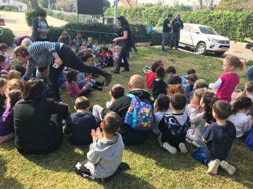 טו בשבט גני הילדים ברשפון 2018