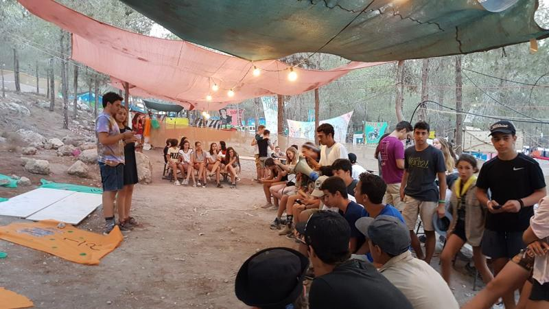 מחנה קיץ שבט ני``ר 2018